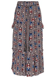 MOLIIN Mia Printed Skirt - Evening Blue
