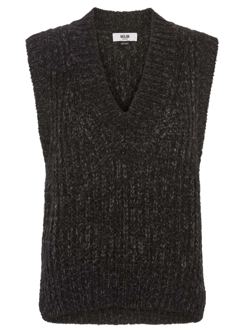 MOLIIN Marley Knitted Vest - Black main image