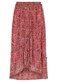MOLIIN Scarlet Printed Skirt - Rose Violet