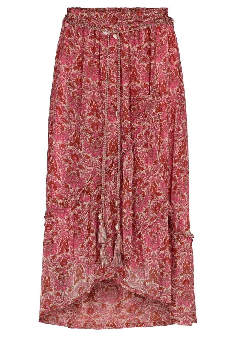 MOLIIN Scarlet Printed Skirt - Rose Violet main image