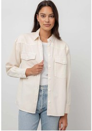 Rails August Shirt Jacket - Ecru