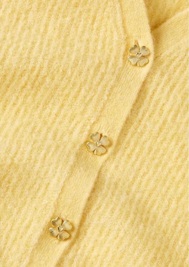 FABIENNE CHAPOT Sally Long Sleeve Cardigan - Citron main image