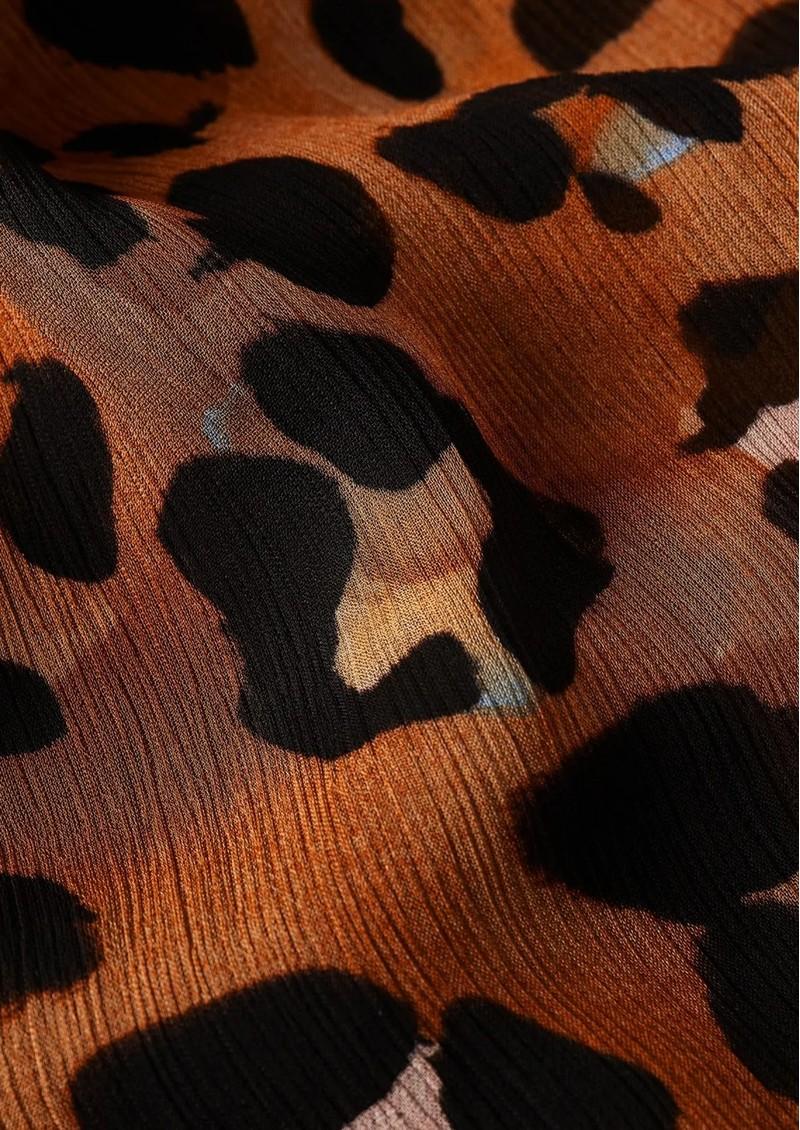 FABIENNE CHAPOT Bobo Cato Skirt - Cognac & Black main image