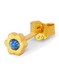 LULU COPENHAGEN Blomst Stud Earring - Blue