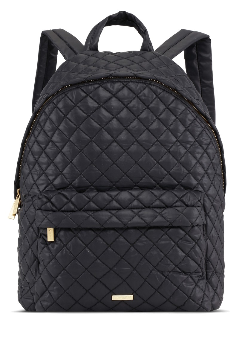 DAY ET Day RE-Soft Bubbles Quilted Backpack - Black main image