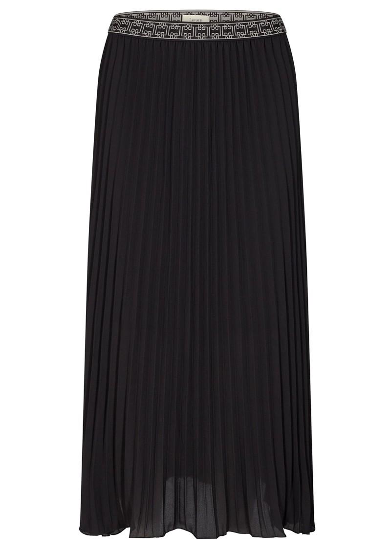 LEVETE ROOM Fabianna 5 Pleated Skirt - Black main image