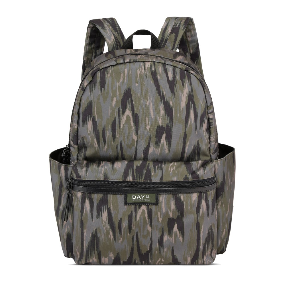 Day Gweneth RE-P Marble Backpack - Lead
