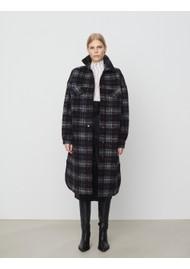 Day Birger et Mikkelsen Haley Chunky Check Coat - Black