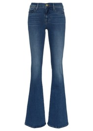 Frame Denim Le High Flare High Rise Jeans - Lupine