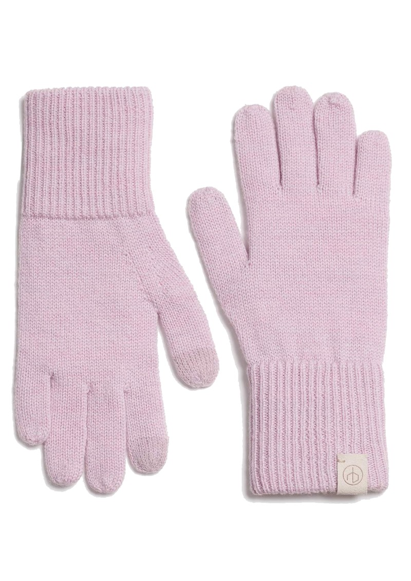 RAG & BONE Addison Wool Gloves - Lilac main image