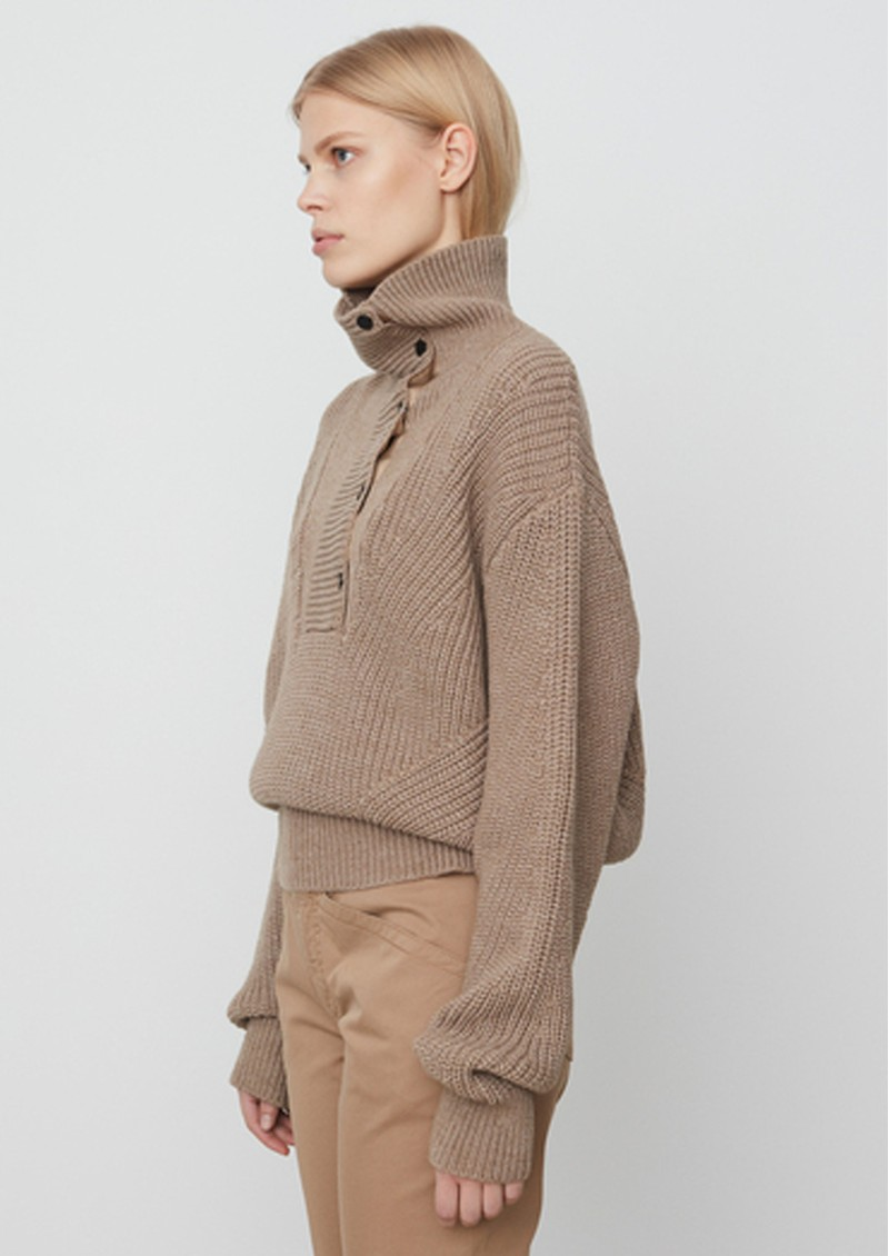 Day Birger et Mikkelsen Valentina Knitted Jumper - Beige Melange main image