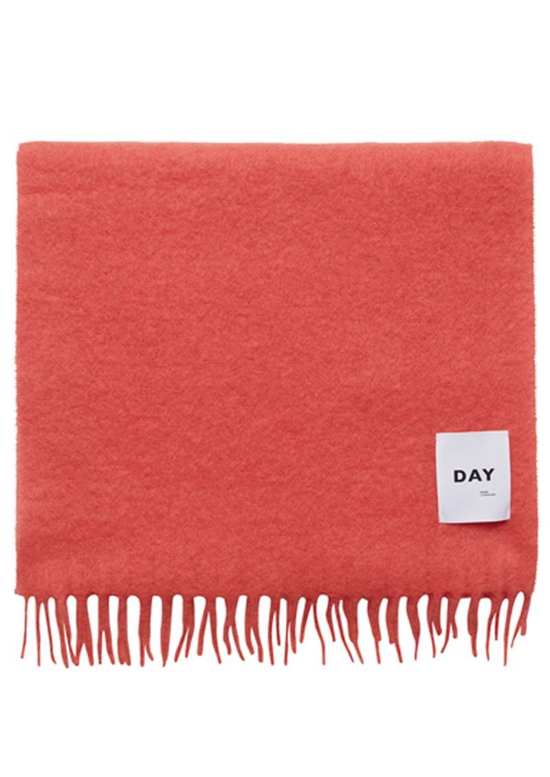 Day Birger et Mikkelsen Lotta Fluffy Scarf - Neon Orange main image