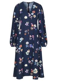 STINE GOYA Rosen Dress - Flowers Live at Night