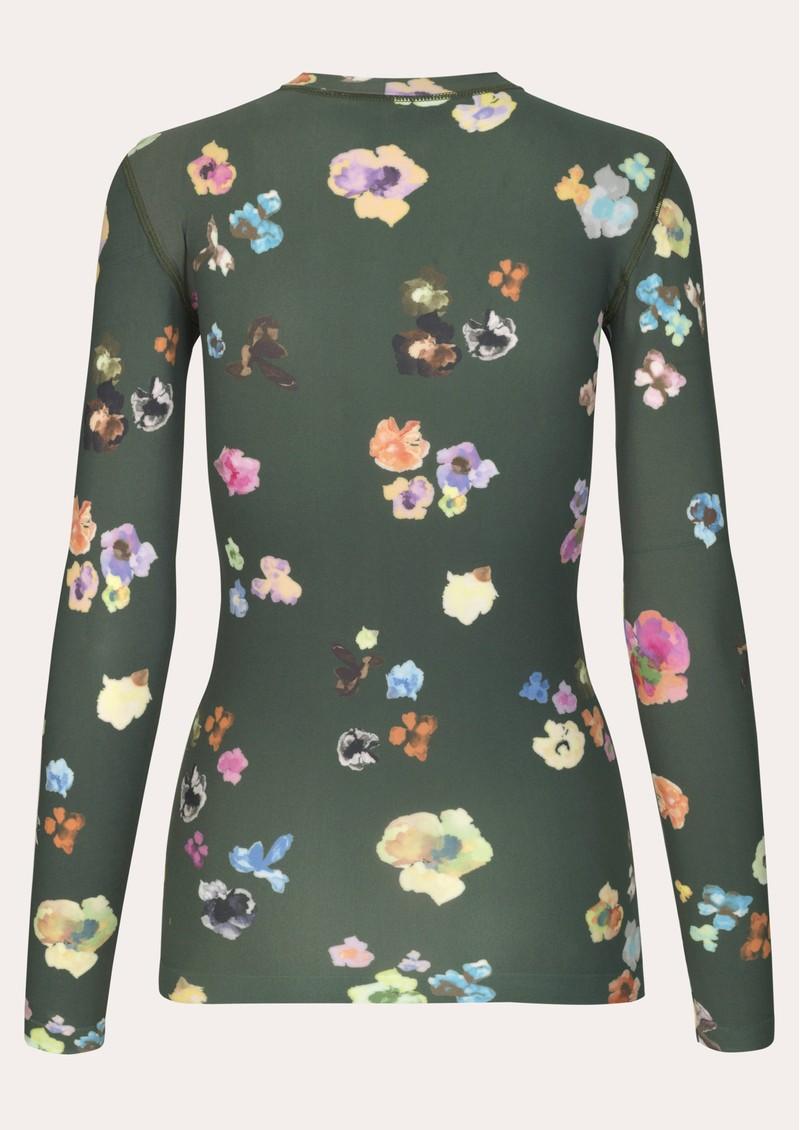STINE GOYA Juno Top - Flower Euphoria main image