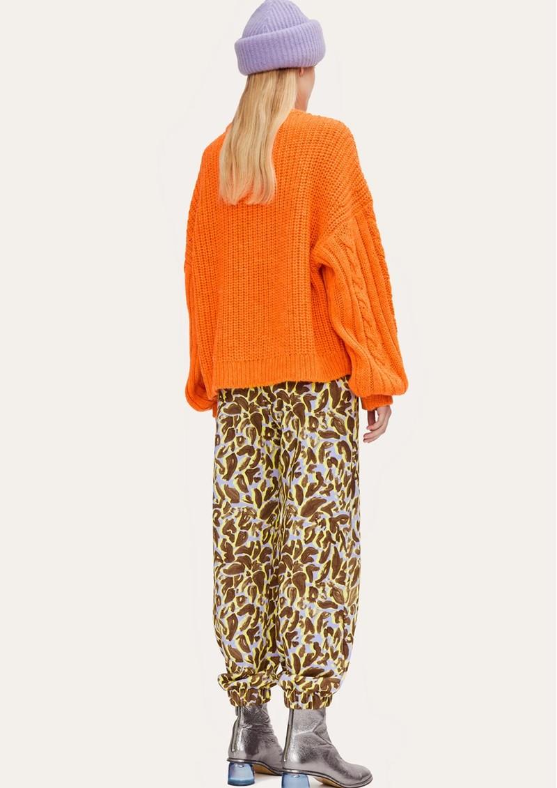 STINE GOYA Scharla Knitted Jumper - Orange main image