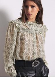 Ba&sh Bora Shirt - Ecru