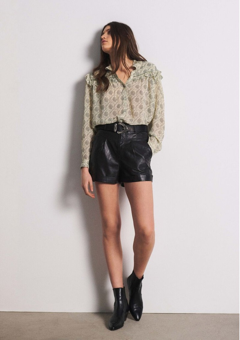 Ba&sh Bora Shirt - Ecru main image