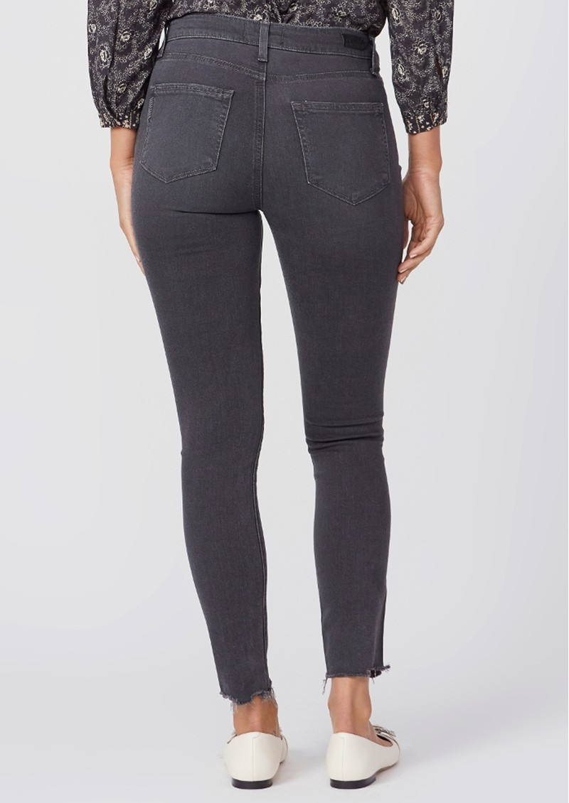 Paige Denim Hoxton High Rise Ankle Skinny Jeans - Smokey Distressed  main image