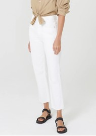 CITIZENS OF HUMANITY Daphne Crop High Rise Straight Leg Ankle Jean - Sail