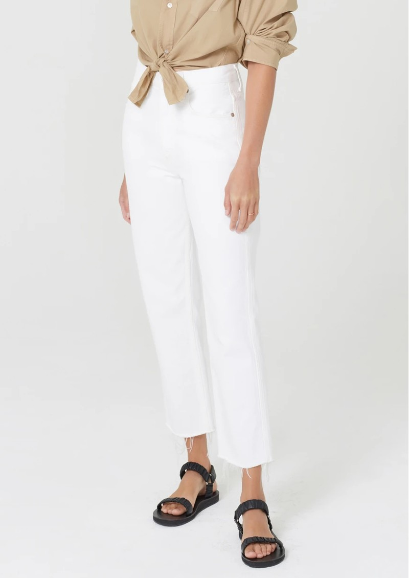 CITIZENS OF HUMANITY Daphne Crop High Rise Straight Leg Ankle Jean - Sail main image
