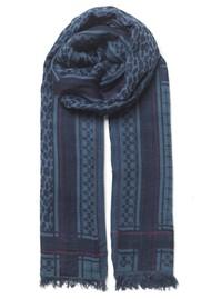 Becksondergaard lKoel Coja Cotton Mix Scarf - Maritime Blue