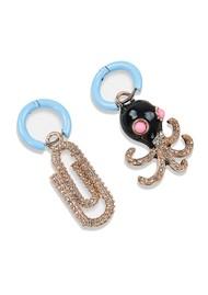 ESSENTIEL ANTWERP Aluna Earrings - Foggy Blue