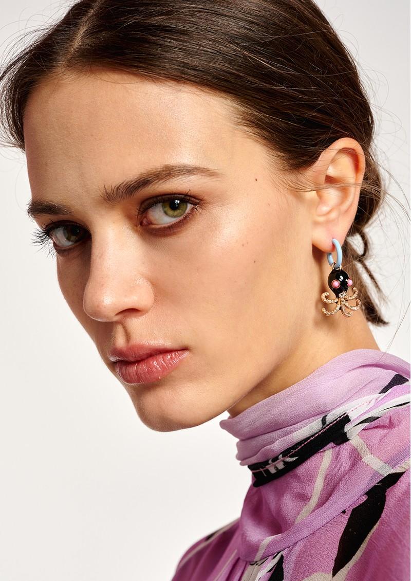 ESSENTIEL ANTWERP Aluna Earrings - Foggy Blue main image