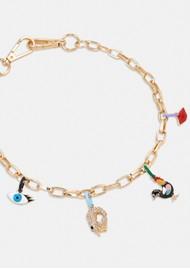 ESSENTIEL ANTWERP Abel Pendant Chain Necklace - Gold
