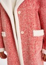 Alida Wool Blend Coat - Coral Queen additional image