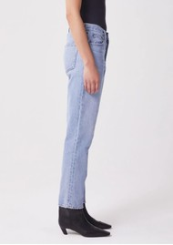 AGOLDE Fen High Rise Relaxed Tapered Jeans - Dimension
