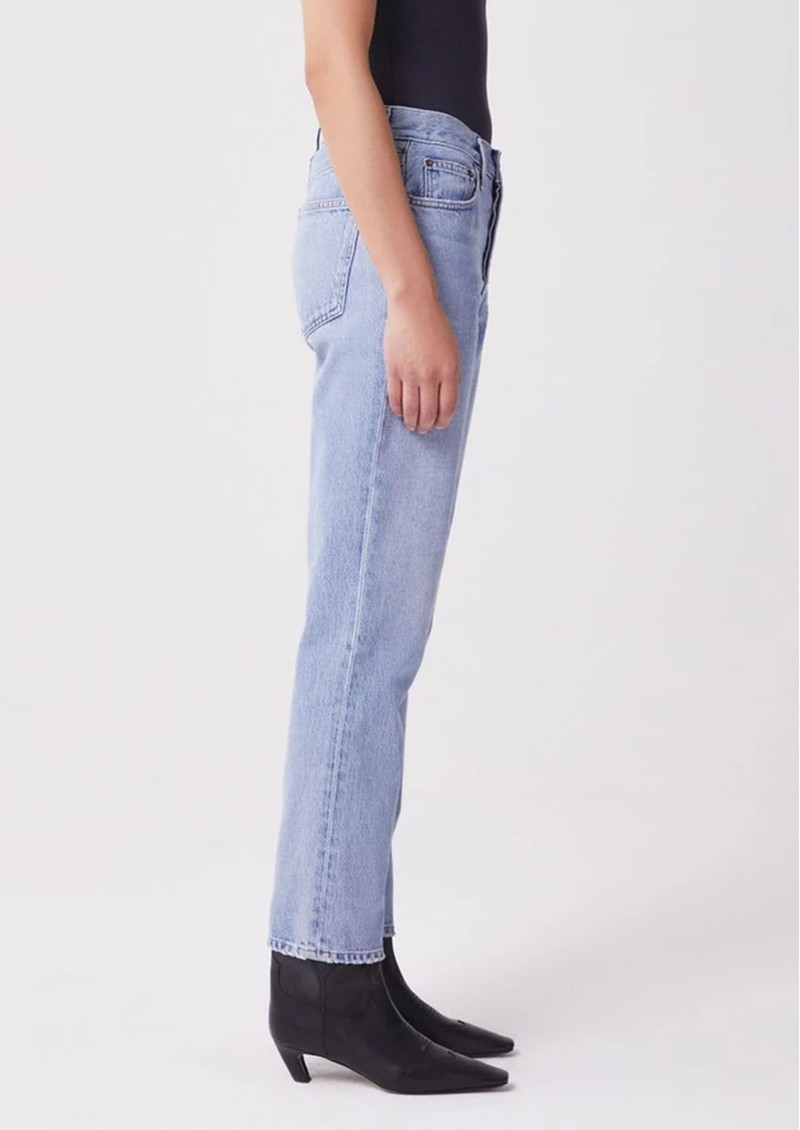 AGOLDE Fen High Rise Relaxed Tapered Jeans - Dimension main image