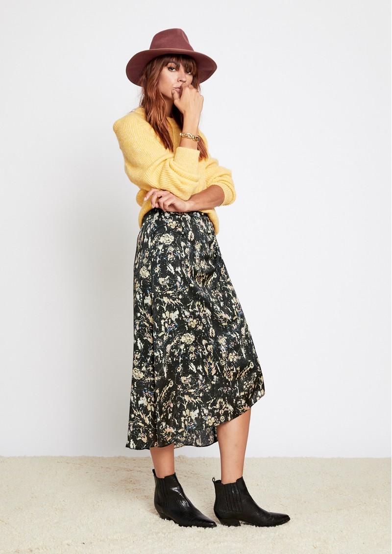 BERENICE July Printed Skirt - Bronx main image