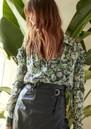 Jack Leather Midi Skirt - Black additional image