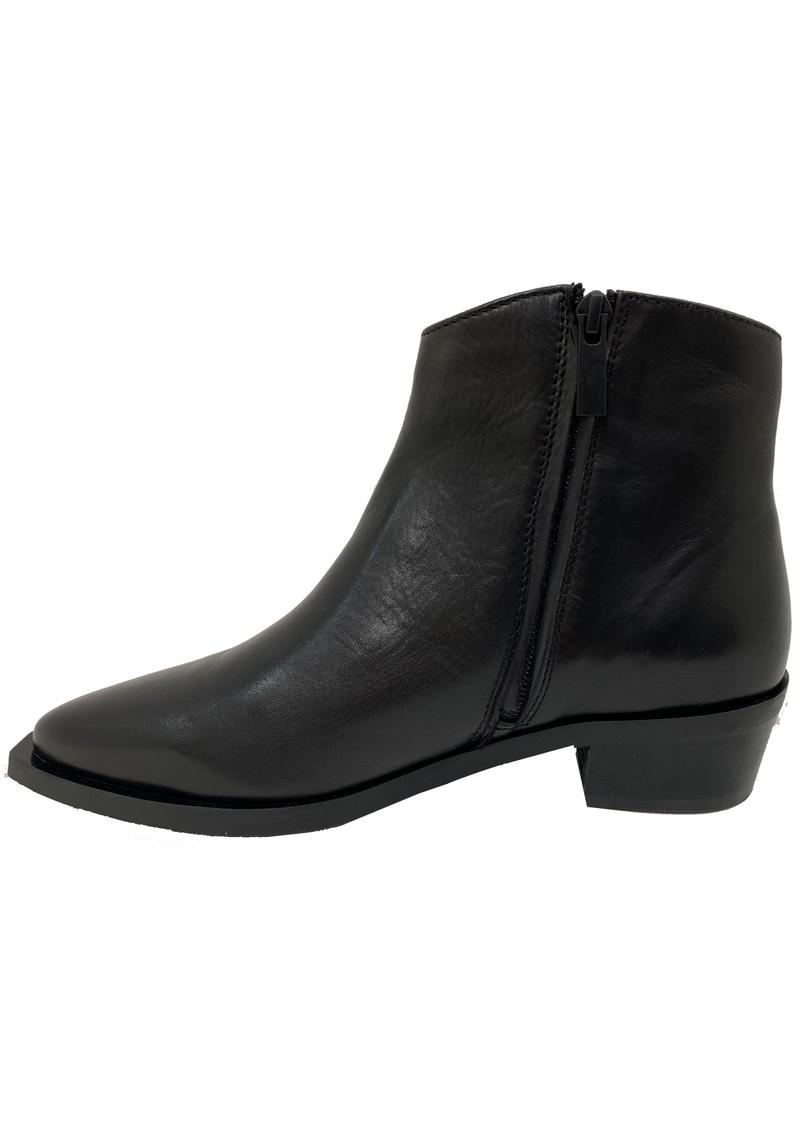 SHOE BIZ COPENHAGEN Uviaya Leather Ankle Leather Boot - Black main image