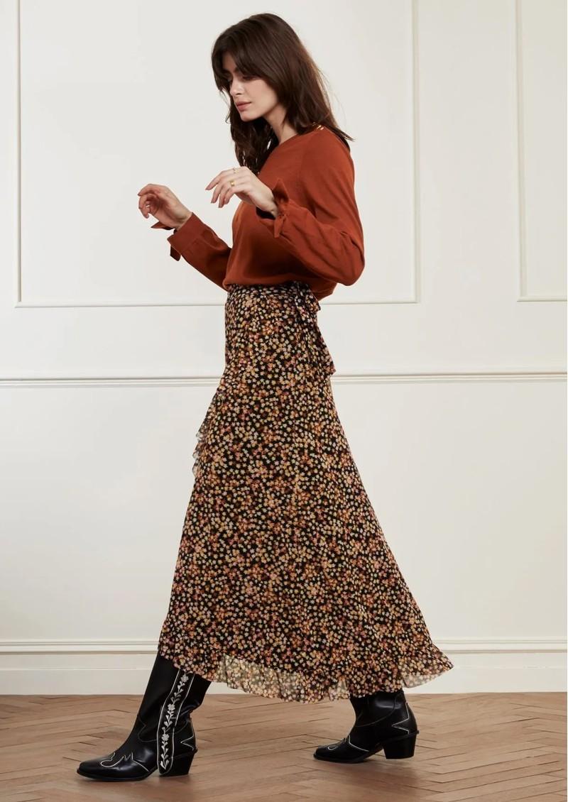 FABIENNE CHAPOT Bobo Frill Wrap Skirt - Confetti main image