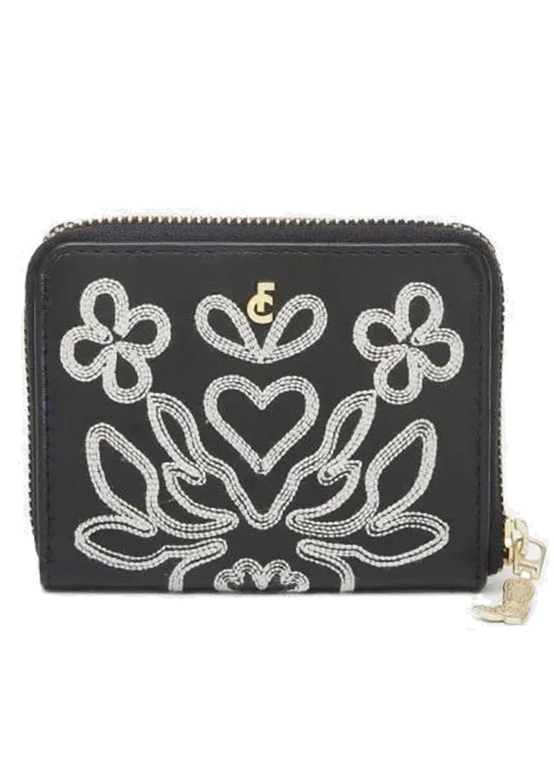 FABIENNE CHAPOT Mimi Leather Wallet - Black & Cream White main image