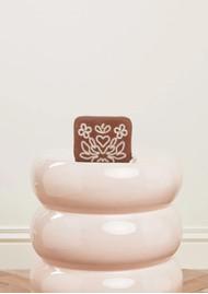 FABIENNE CHAPOT Mimi Leather Wallet - Cognac & Cream White