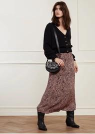 FABIENNE CHAPOT Starry Knitted Cardigan - Black