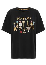 HAYLEY MENZIES Forever Portobello Pima Cotton Tee - Black