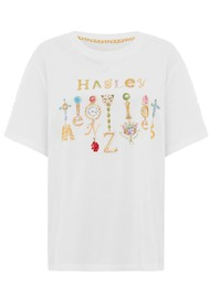 HAYLEY MENZIES Forever Portobello Pima Cotton Tee - White
