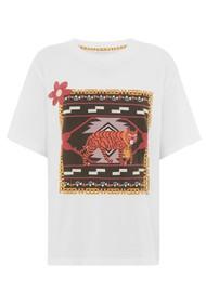 HAYLEY MENZIES Portobello Tiger Pima Cotton Tee - White