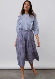 LOLLYS LAUNDRY Hanni Stripe Shirt - Blue & White