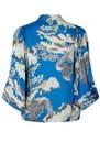Alba Printed Kimono Jacket - Blue  additional image