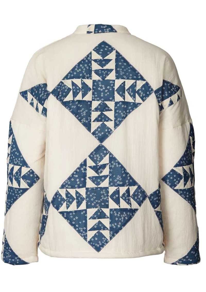 LOLLYS LAUNDRY Valeria Quilted Cotton Jacket - Creme main image
