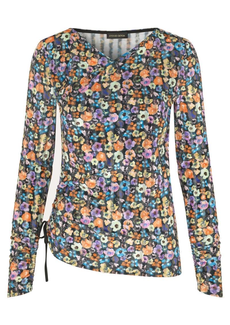 STINE GOYA Line Blouse - Flower Euphoria main image