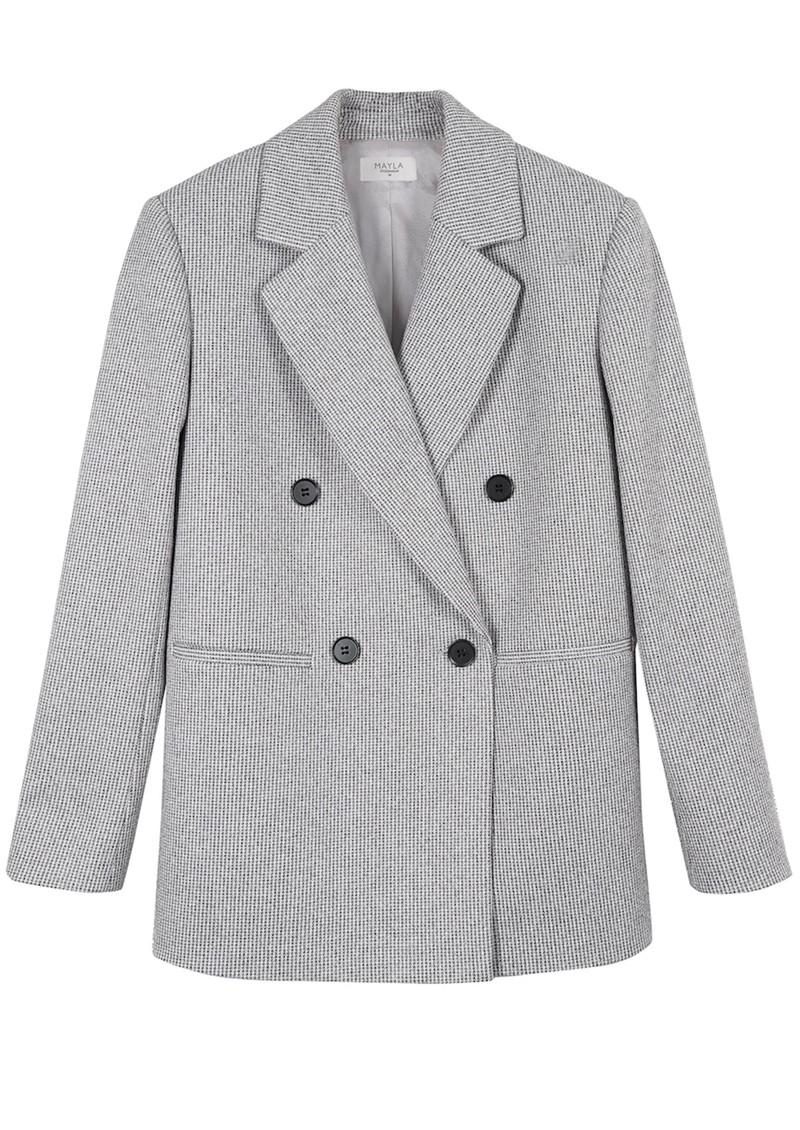 MAYLA Wilder Oversized Blazer - Grey main image