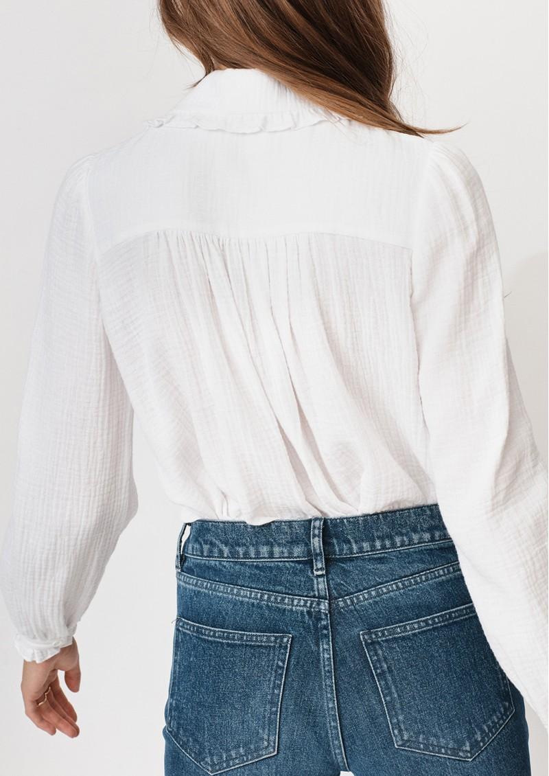 MAYLA Alma Cotton Blouse - White main image