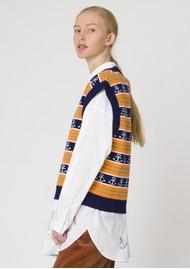 RESUME Gordon Knitted Vest - Orange
