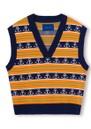 Gordon Knitted Vest - Orange additional image