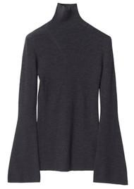 Day Birger et Mikkelsen Jasmine Knitted Top - Dark Grey Melange